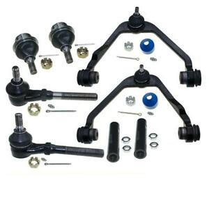8x New Control Arm Tie Rod End Ball Joint Kit For 1997 2003 Ford F 150 Rwd