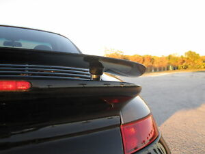 Porsche 997tt 997 Turbo Fixed Spoiler Rear Wing Kit