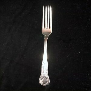 1835 R Wallace Silverplate Usn Fork