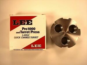 Lee 3 Hole Quick Change Turret Pro1000 New In Package #90497
