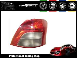 Tail Light Right Vt1149p Toyota Yaris 2005 2007 2008 2009 Red White