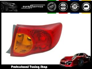 Tail Light Right Vt1134p Toyota Corolla Sedan 2007 2008 2010 Yellow