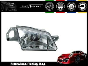 Headlight Right Vp1181p Mazda 323 4 1998 1999 2000 2001 Chrome