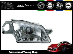 Headlight Right Vp1182p Mazda 323 1998 1999 2000 2001 Chrome