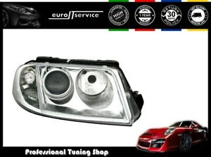 Headlight Right Vp307p For Vw Passat 3bg 2000 2002 2003 2004 2005 Chrome