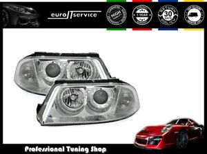 Set Angel Eyes Headlights Vp84 For Vw Passat 3bg 2000 2002 2003 2004 2005