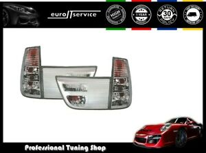 Set Tail Lights Vt485 Bmw X5 E53 1999 2000 2001 2002 2003 Silver