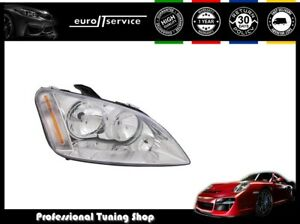 Headlight Right Vp768p For Ford Focus C max 2003 2004 2005 2006 2007 Chrome