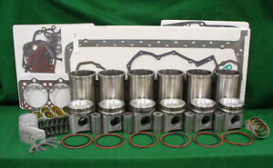 Rp651 John Deere 6068t Engine Inframe Overhaul Kit 7400 7500 7600 9400 670b 640g