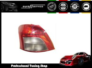 Tail Light Left Vt1154l Toyota Yaris 2005 2006 2007 2008 2009 Red