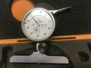 Mitutoyo 7212 Depth Gauge 100 200