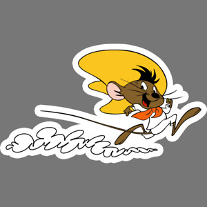 Speedy Gonzales Funny Kids Cartoon Vinyl Sticker Car Truck Window Decal Laptop