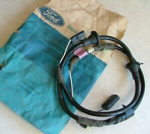 Nos 1968 Ford Mustang shelby Door Speaker Wiring Harness C8zz 15629 a Am 8 Track