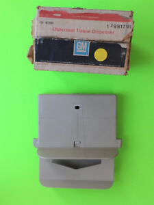 1970 s Chevrolet Buick Nos Underseat Tissue Dispenser Gm 981799 Chevelle Camaro