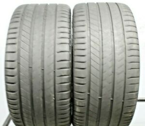 Two Used 295 35r21 2953521 Michelin Latitude Sport 3 Porsche N1 7 32 M53