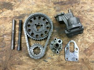 Melling Oil Pump Timing Chain Sbc Imca Usmts Je Crower Sprint Car Drag Race T
