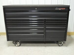 Snap On 68 Flat Black Epiq Tool Box Toolbox Armor Edge Top