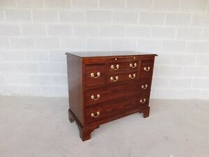Stickley Cherry Chippendale Style Bachelor Chest 38 W X 33 H