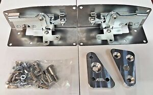 1953 1956 Ford Pickup Door Latches Ford Truck Bear Claw Latch Kit Plain Steel