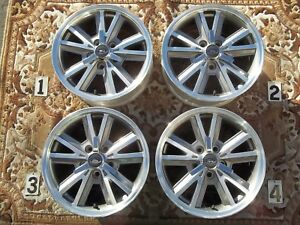 2005 2009 Ford Mustang 16 Wheels Stock Oem Factory Rims Machined 4 Spinner Caps