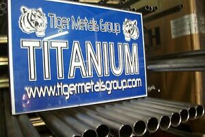 Grade 2 Cp Titanium Tube 5 Od 0 055 Wall 11 75 Length welded 667jm