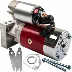 New 3hp Sbc Chevy Mini Starter High Torque 153 168 Tooth 350 400 Small Block Red