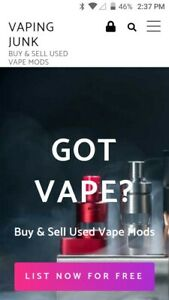 Established Used Vaping Market Classifieds Turnkey With Huge Opportunity
