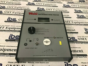 Wahl St2200f 110 St 2200 Soldering Iron Tester With Warranty