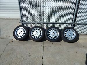 Used Mercedes Benz R129 300sl 500sl Oem Ronal German Oem Original 16 Wheels