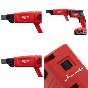 Collated Screw Gun Attachment Milwaukee Drywall Magazine Power Tool Tapered