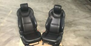 2013 2016 Hyundai Genesis Coupe Front Seat Set Seats Leather Rh Lh Oem Black