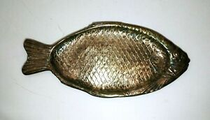 Reed Barton 100 Silver Plated Fish Platter 22 Tray