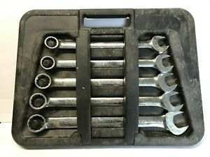 Craftsman Professional 5pc Large Combo Wrench Set 1 1 16 1 1 2 Sae 45965 Usa