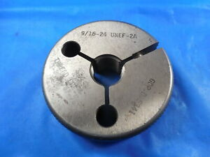 9 16 24 Unef 2a Thread Ring Gage 5625 Go Only P d 5341 Quality Inspection