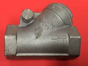 Stockham Size 1 Stainless Steel Swing Arm Check Valve