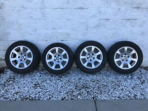 Bmw 16 Wheel Set 4 With Tires 225 55r 16 59469