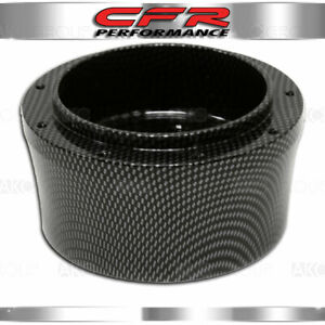 67 94 Chevy Gm Smooth Carbon Hydrographic Aluminum Steering Wheel Adapter 9 Hole