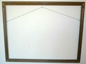 Large Antique Dark Gold Gesso Newcomb Macklin Style Picture Frame 30 X 23