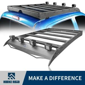 Hooke Road Roof Rack Top Cargo Luggage Carrier Fit Toyota Tacoma 05 19 4 Door