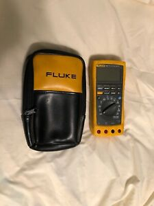 Fluke True Rms Multimeter 189 And 3 Current Probes
