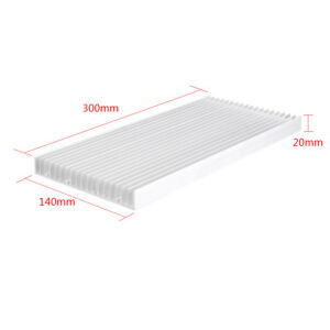 300x140x20mm Aluminum Heat Sink Cooling For Led Power Ic Transistor Heatsink Hl