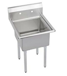 Elkay Super Economy Scullery Sink 1 Compartment Deep Bowl