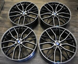 Bmw Style 405m M Performance 20 Double Spoke Forged Wheels Set Of 4 Wheels