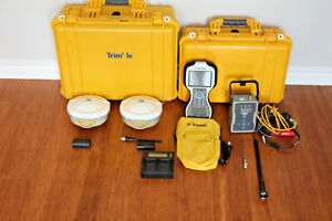Trimble Dual R8 Model 2 Gps Gnss Glonass Rtk Survey Receiver Setup Tsc3 Tdl 450h