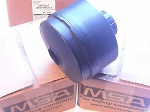 Msa Cbrn Approved Gas Mask Filters vac Sealed New 10046570 Exp 9 2013