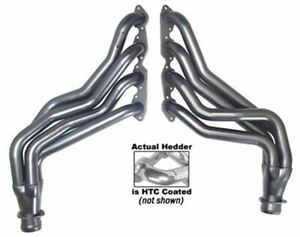 Coated Headers Gm Truck W bbc