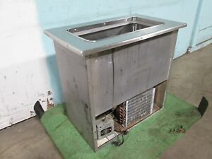 tecumseh H d Commercial S s Refrigerated drop in Ice Cream Freezer Insert