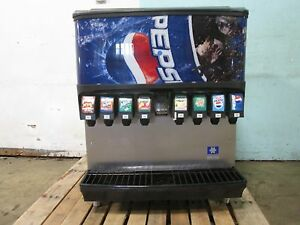 servend Sv200i H d Commercial nsf Lighted 8 Heads Soda W ice Dispenser