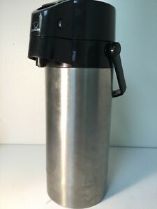 Zojirushi Sr ag38 Air Pot Coffee Dispenser Stainless Steel 128oz