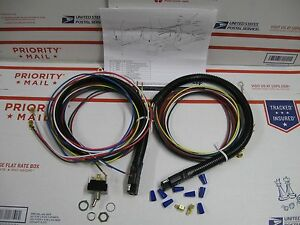 Meyer Snow Plow Light Wiring Harness 80831 Switch New Made By Truck lite Atl